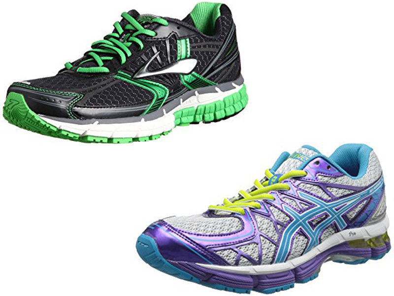 Running Shoes Asics Vs Brooks