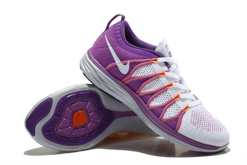 finest selection ec49b 31766 ... new zealand nike flyknit lunar 2 womens purple 66574 597c9