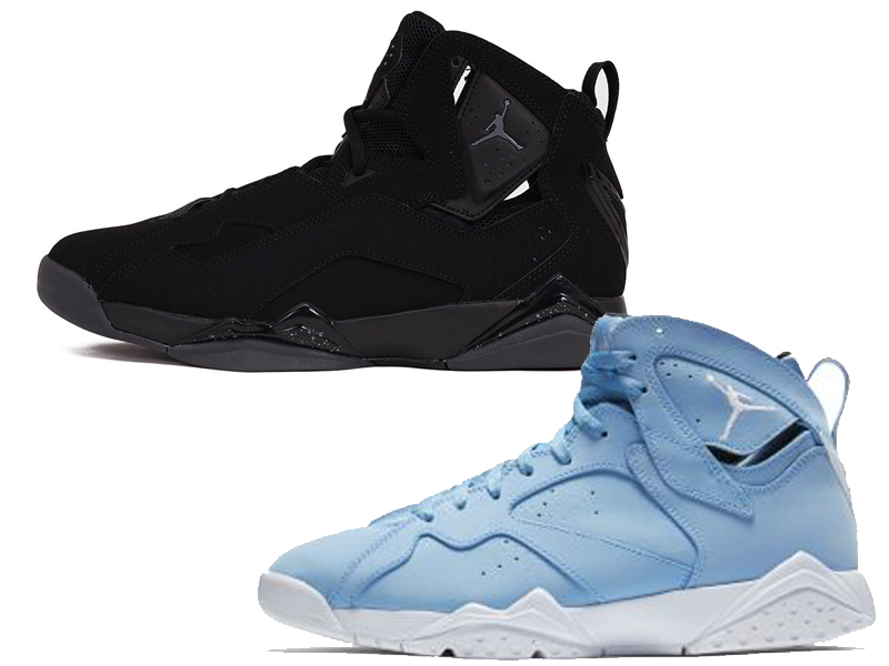 new concept de165 48fd1 Jordan True Flight vs Jordan 7