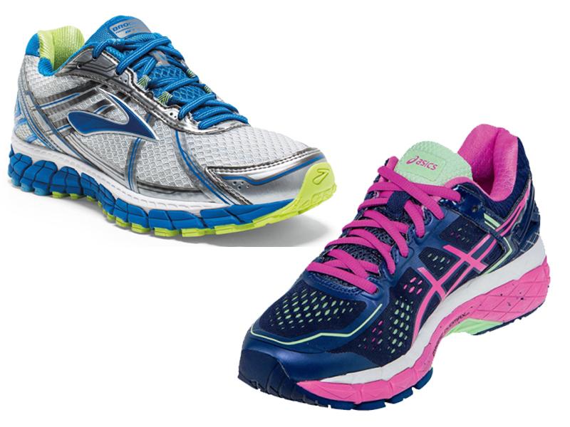 Brooks Vs Asics Running Shoes