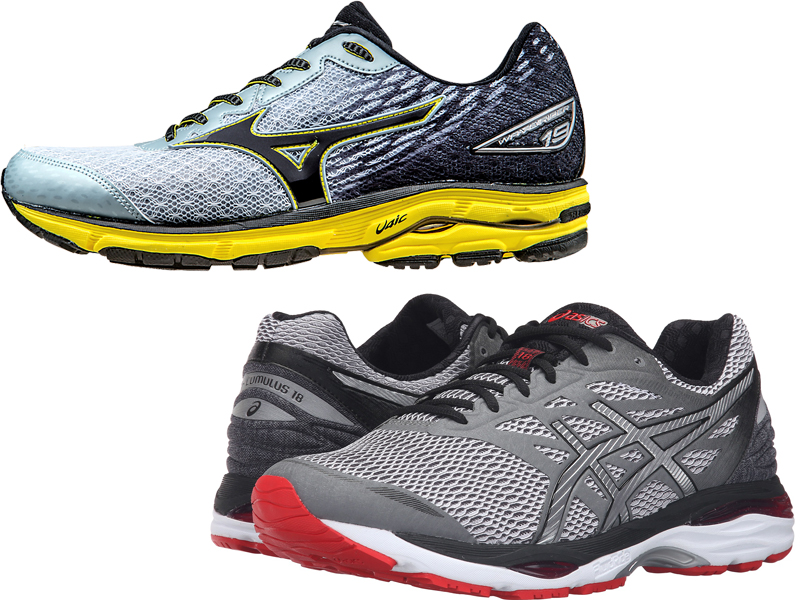 mizuno wave inspire vs asics kayano
