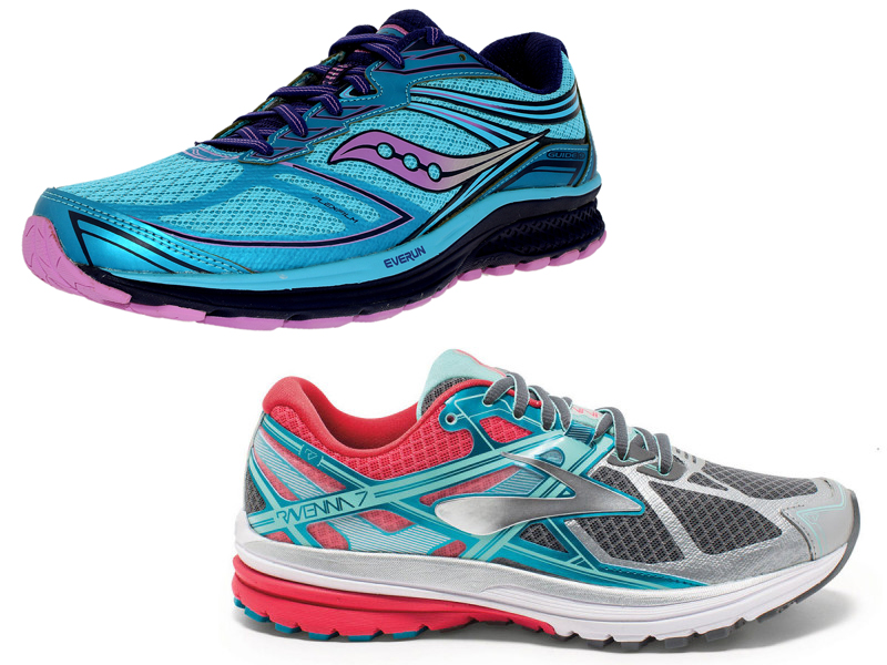 ccf940a71e4 Saucony Guide 9 has an upper that is reinforced by both stitched-on and  no-sew overlays. The stitched-on overlays can be found on the medial side  of the ...