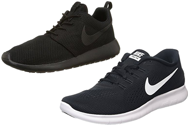 Nike Roshe One Vs Free Rn