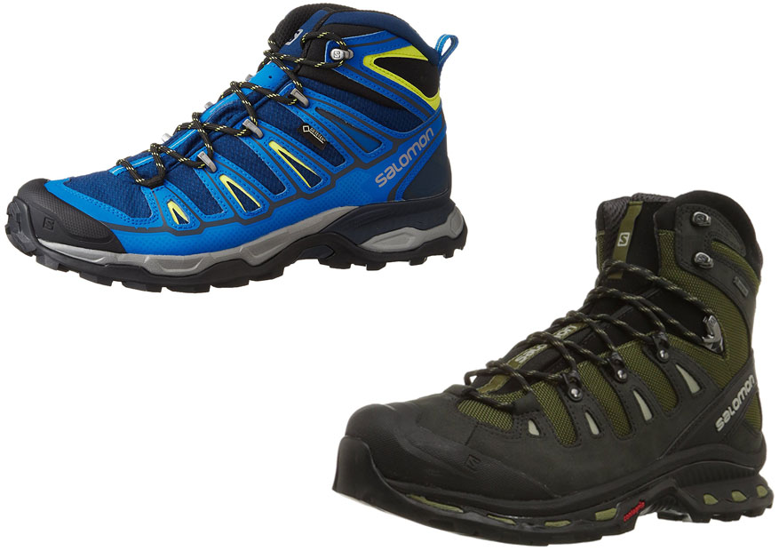 huge discount c173f 4335a Salomon X Ultra Mid 2 GTX vs Quest 4D GTX