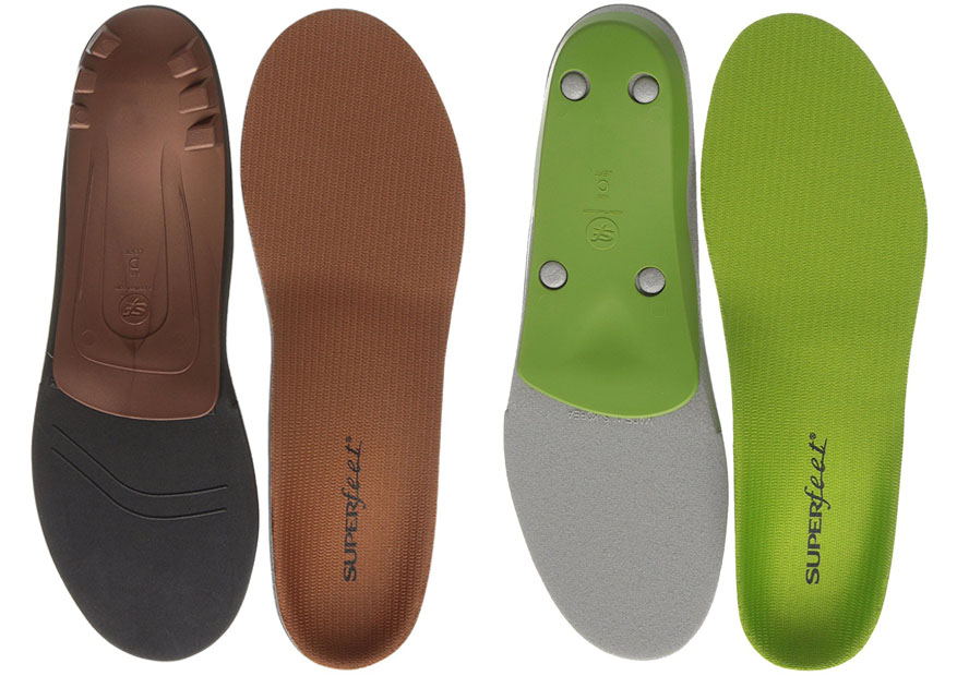 Superfeet Copper Vs Green Comparingshoes Com